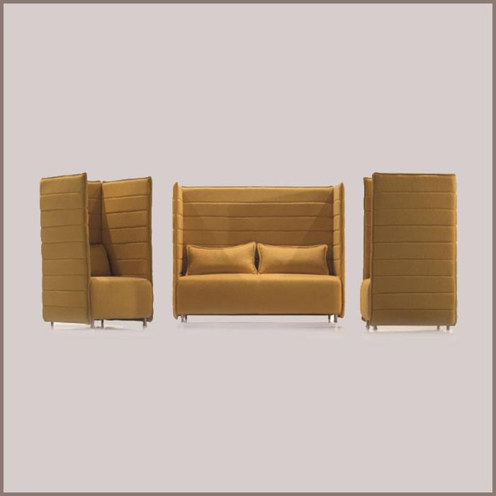 Sofa: S-51: 1620Wx650Dx1380H