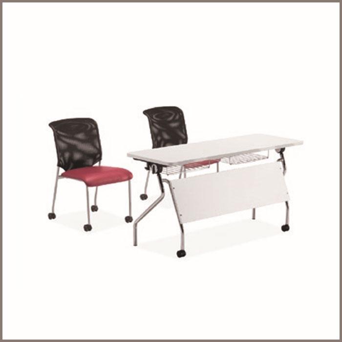 Table: ST-01-2/Chair: CV-B118BS-1