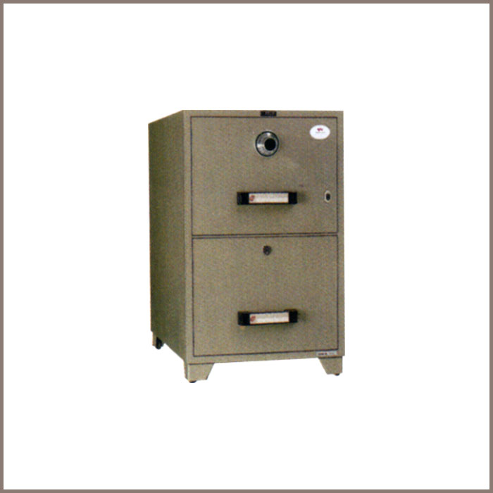 TB4C-2D: 515Wx787Dx827H, NET WT. : 145 Kgs. CAPACITY : 134 Liters ACCESSORIES : 2 Drawers JIS FIRE RATING : 1 Hrs.