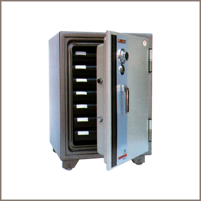 SD-7N : 463Wx512Dx665H, NET WT. : 108 Kgs. CAPACITY : 50.8 Liters ACCESSORIES : 7 Tray JIS FIRE RATING : 2 Hrs.
