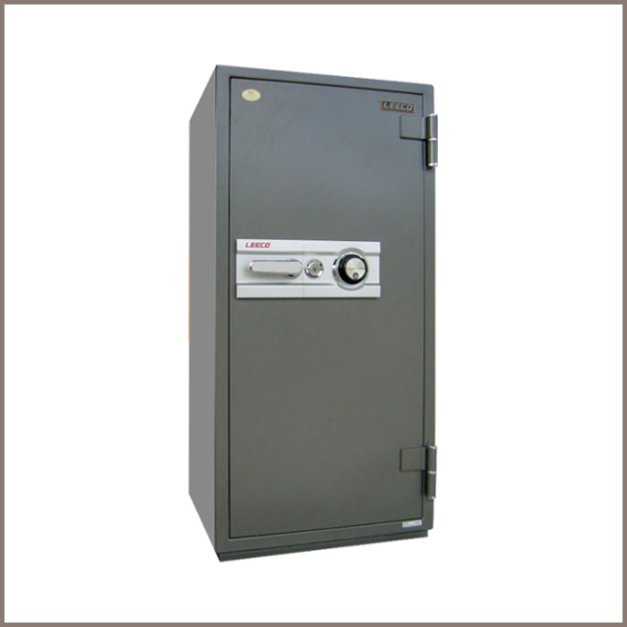 3702 : 590Wx592Dx1230H,NET WT. : 250 Kgs. CAPACITY : 168 Liters ACCESSORIES : 1 Drawer with key, 2 Shelves JIS FIRE RATING : 2 Hrs.