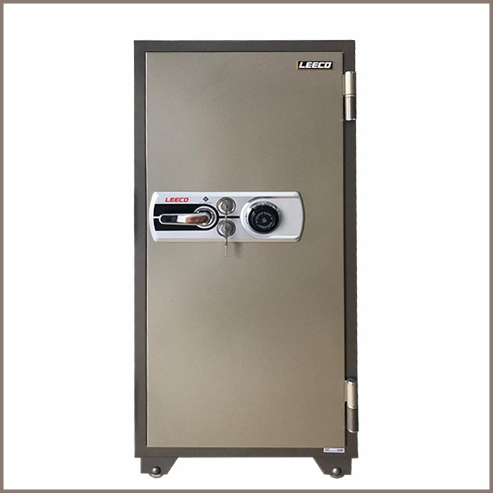 702.(W590xD593xH1270).Fire safe dialing comination lock250kg.Fire resistand rate1010 C2h
