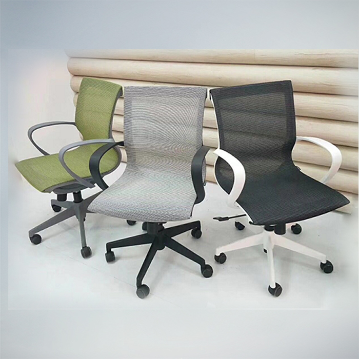 Office Chair F489B-GRAY                   W550xD600xH980MM