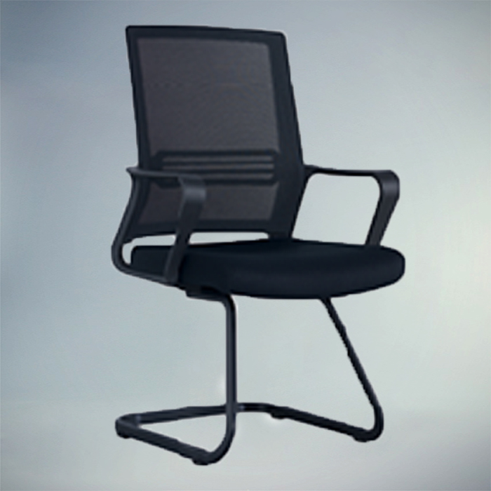 Office chair F481C-BLACK    W570xD610xH950MM