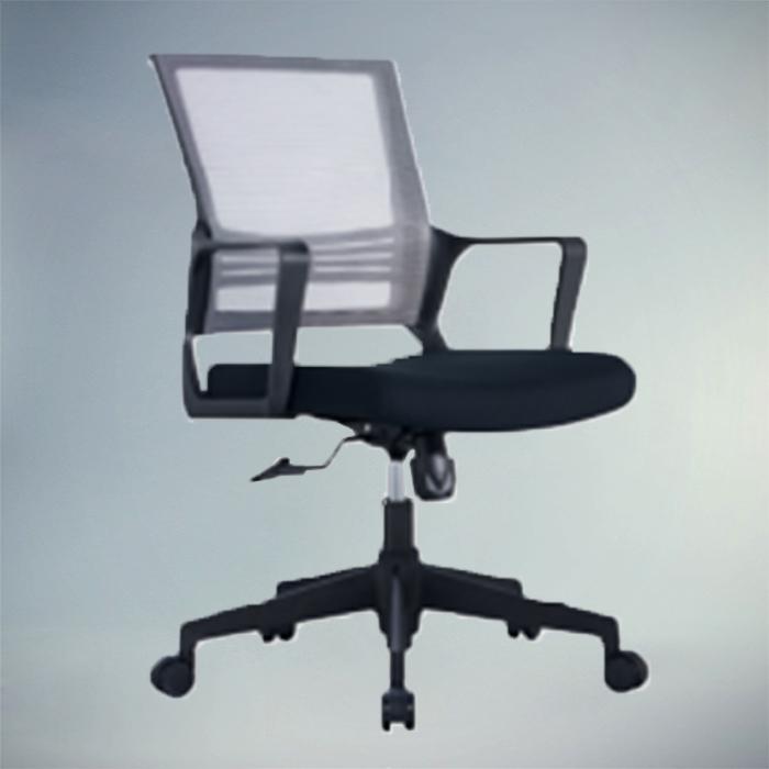 Office Chair  F483-BLACK     W550xD630xH990MM