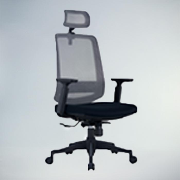 Office Chair  F486A-BLACK      W600xD570xH1270MM
