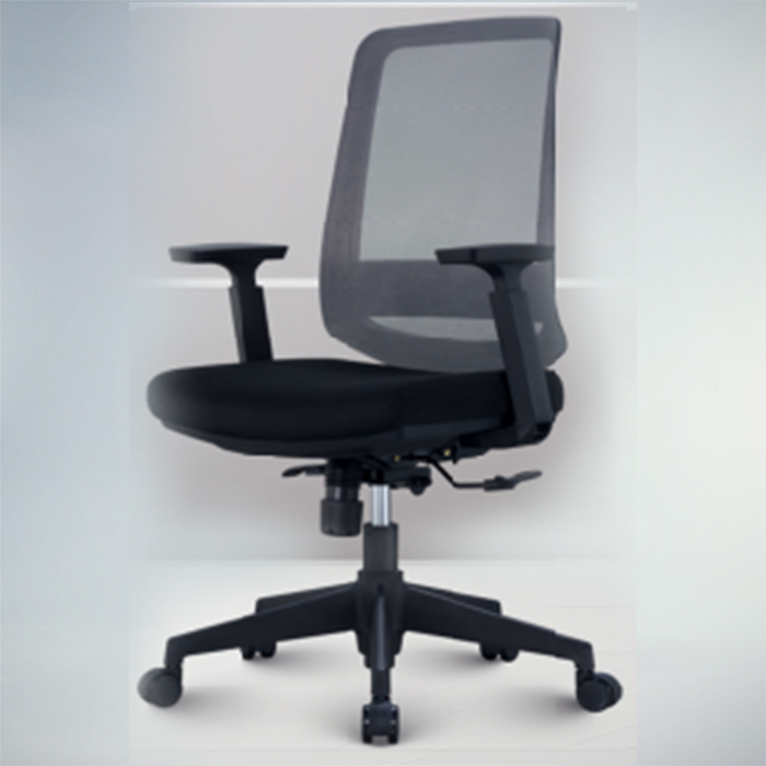Office Chair F486B-BLACK​​​​    W600xD570xH1100MM
