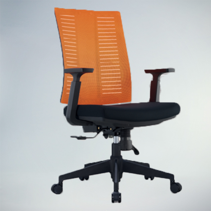 Office Chair F488A-BLACK​​    W590xD560xH1320MM