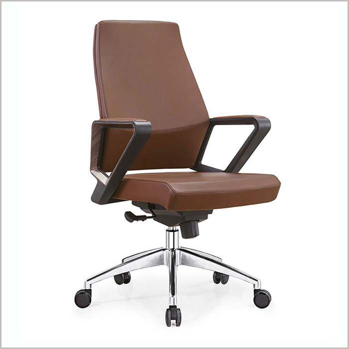Office Chair W18203B-D.BEIG PU   W600xD700xH1080MM