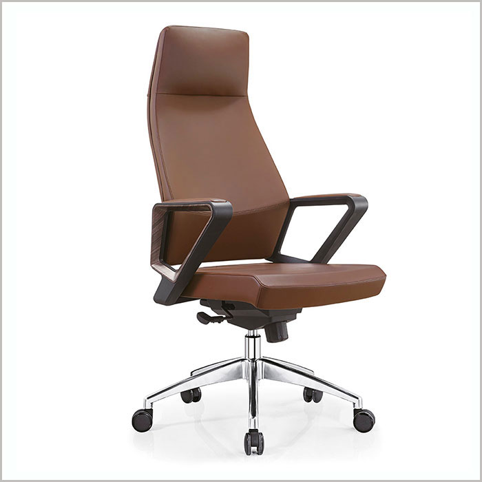 Office Chair W18203A-D.BEIG PU   W600xD700xH1240MM