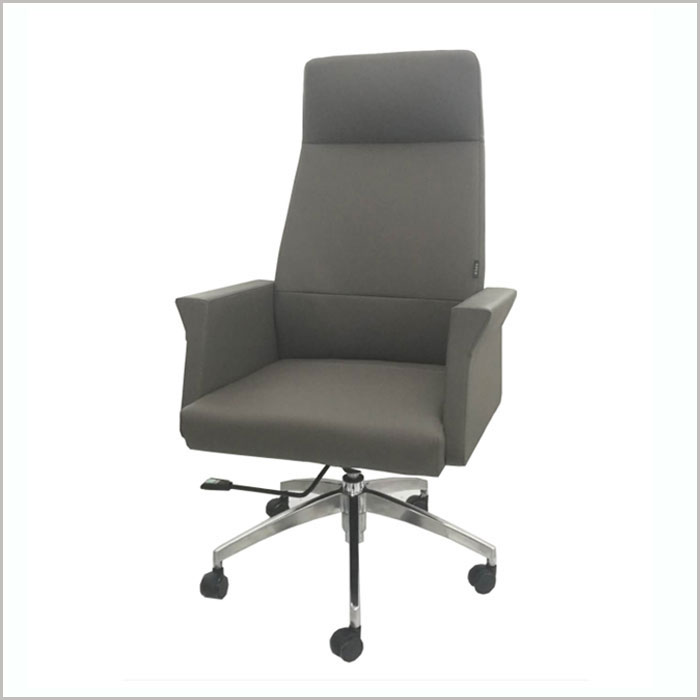 Office Chair F1901A-GREY PU   W660xD670xH1240MM