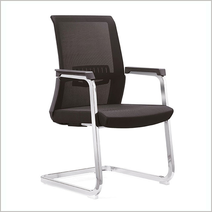 Office Chair  W18102C-BLACK     W590xD580xH960MM