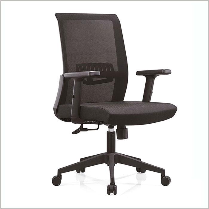 ​ Office Chair W18102B-BLACK​​​    W630xD620xH1010MM
