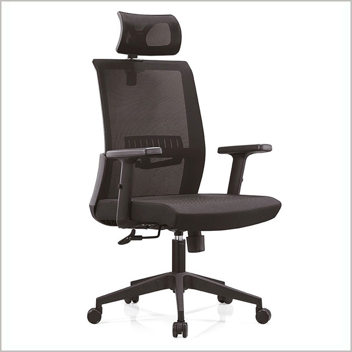 Office Chair  W18102A-BLACK    W630xD620xH1160