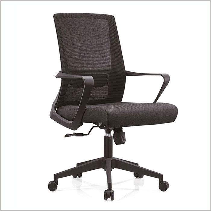 Office Chair W18101B-BLACK   W600xD600xH1010MM