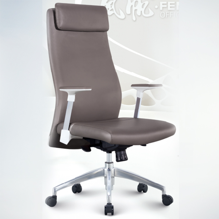 Office Chair F1812A-BLACK PU   W660xD630xH1150MM